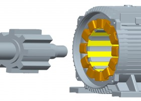 Rotor and Stator of Switched Reluctance Motor